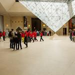 Bottom of I. M. Pei's Glass Pyramid
